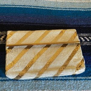 Vintage Whiting and Davis Co mesh clutch